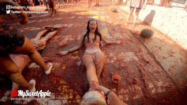 Bucket List: Fucking at La Tomatina weekend in Spain