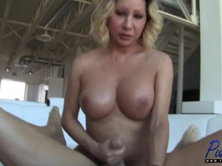 cumming from a handjob while getting assfucked Christian XXX