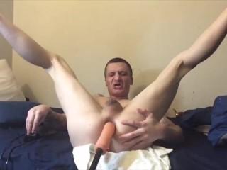 Twink bottom takes nice ass...