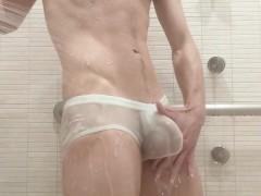 gay wet bulges Free