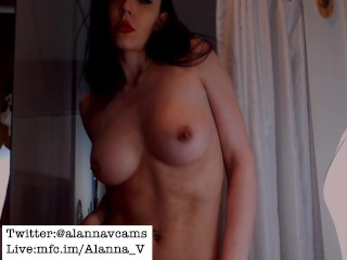 Sensual Shower Tease and Masturbation