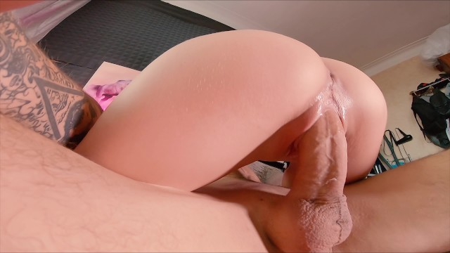 Big cocks in tight ass Teen was fucked by a huge cock in a tight ass at the casting...