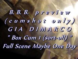 B.b.b. preview: box cum 1 (sort of ) noslomo