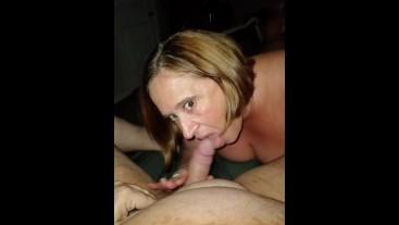 My Slutty Hotwife Brenda loves sucking my cock!