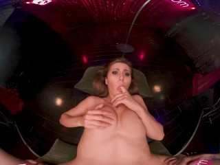 VRBangers – Petite Teen Show's Her Slut Skills On And Of Stage VR Porn