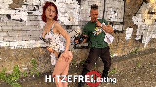 Hitzefrei.dating PUBLIC! JENNY FUCKED HARD! FULL FACIAL on PLAYGROUND!Part2