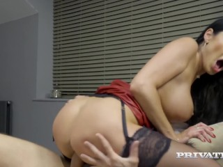 PrivateCom Big Titty Mature Muff Ania Kinski Fucks Cock Ania Kinski, Kai Taylor