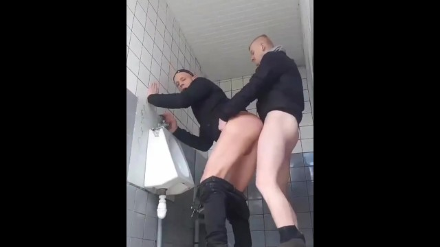 Gay mexican guys toilet British couple almost caught fucking in the toilet