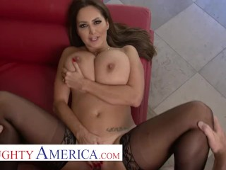 Naughty America – Ava Addams comes home with new Lingerie