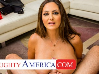 Naughty America - Ava Addams comes home with new Lingerie