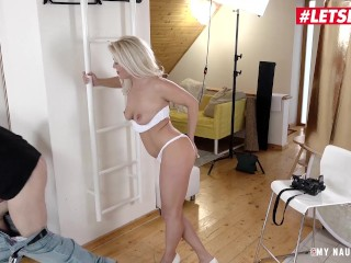 LETSDOEIT – Naughty MOM Gets Fucked to Climax In The Photographer's Office