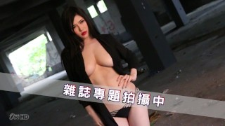[OURSHDTV]Anri Okita photoshoot behind the scenes