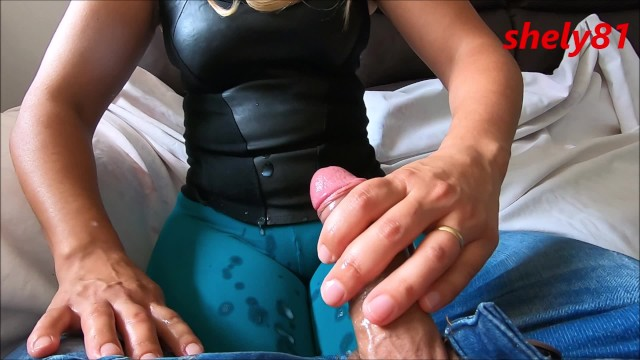Sexy pics boys sisters Step-sister with the big pussy cameltoe gives help to the brother to cum