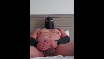 Daddy Bear Jerking Off When Wife is Gone