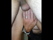 Anal spitroast and squirt