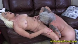 Ms Paris Finds Some HOT Pussy