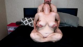 amateur cam girl cums from tit sucking