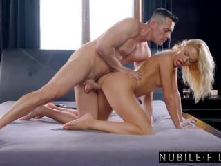 NubileFilms Creampie For Breakfast SE Cherry Kiss, Renato