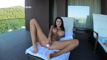big toys make her pussy cream - anisyia livejasmin in 4k @60fps