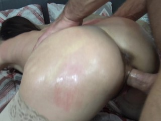 lesbický sex tvrdě humping eben sexy velká prsa