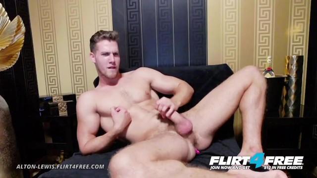 Blue callum gay Alton lewis on flirt4free - blue eyed blonde hunk w big cock vibrates ass