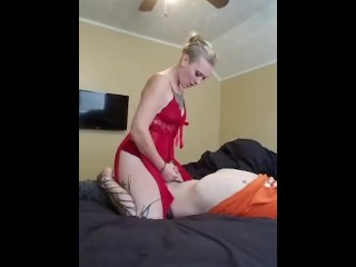 Passionate side fuck tease