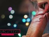 Pulsating blowjob and foreskin play, licking frenulum, close up, short ver