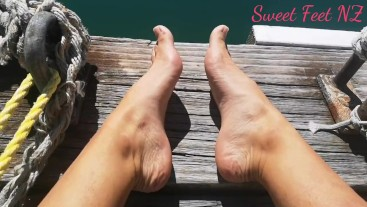Asmr Feet at the Harbour
