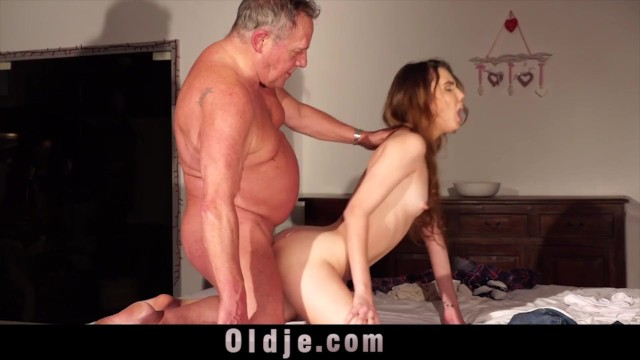 Fat skinny lesbians Skinny girl seduces fat old man and he fucks her sweet pussy