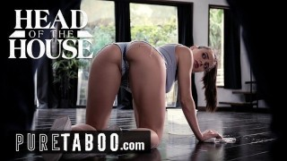 PURE TABOO Lana Rhoades Deals with Strict Step-Brother