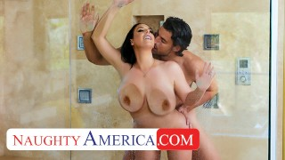 Naughty America – Angela White surprises husbands friend