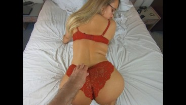 Cheating Teen gets Fucked and Creampied by Stranger in a Hotel