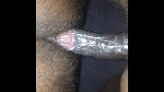 Take the rubber off and fuck me raw