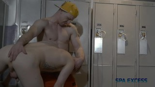 LOCKER ROOM ORGY - RYAN RUSSELL TRENT KING BEAU REED COOPER ROADS P2