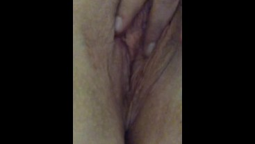 Close up of my wet pussy