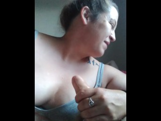 First video blooper LMAO! blowjob. Hair up or down?!