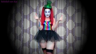 Sexy Clown Humiliates Your Lil' Dick (SPH, Female Domination, Laughing)