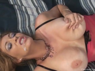 Busty Blonde Charlee Chase Fucked And Facialed Charlee Chase