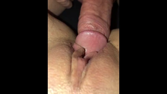 Cum extreme milfs shot - Husband eats up his massive cum shot he deposited on his wifes sweet pussy.