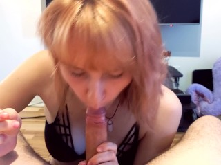SWEET DIRTY BLOWJOB WITH LOLIPOP