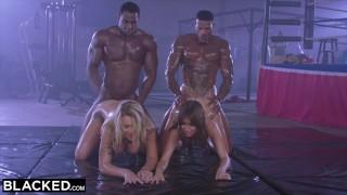 Free Porn Movie - Blacked Riley Reid Riley Reid Gets Dp'd By Two Bulls