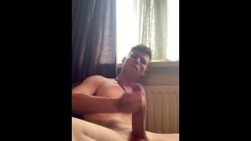 Multiple Self Suck & intense Orgasm/Cum