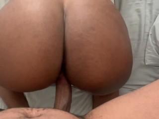 Teen Creaming On Dick...