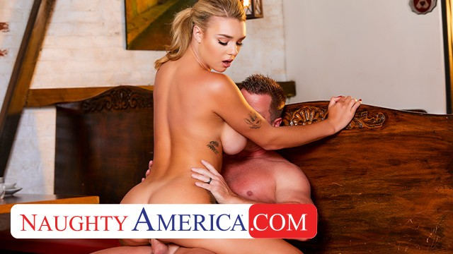 Naughty America - Gabbie Carter fucks her friends dad