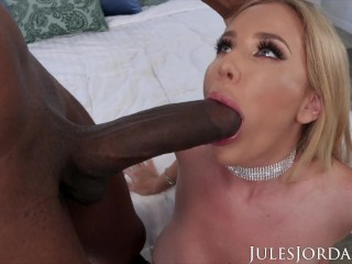 Jules Jordan Savannah Bonds First Interracial Dredd, Savannah Bond