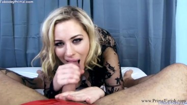 Sexy Blonde Milf Crawls Into Bed To Use Step Son's Cock - Jessica Ryan