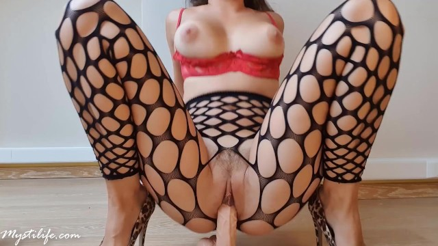 Foot fetish jobs Foot job and crazy ride with shaking orgasm - mysti life