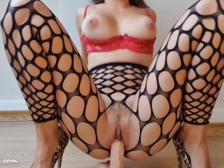 Foot job and crazy ride with shaking orgasm i Life