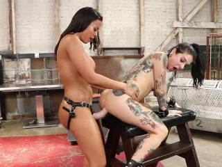 Insatiable Anal Angels: Luna Star and Joanna Angel