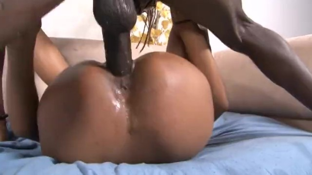 Huge black dick hard fuck Girl cant stop squirting off a huge black cock
